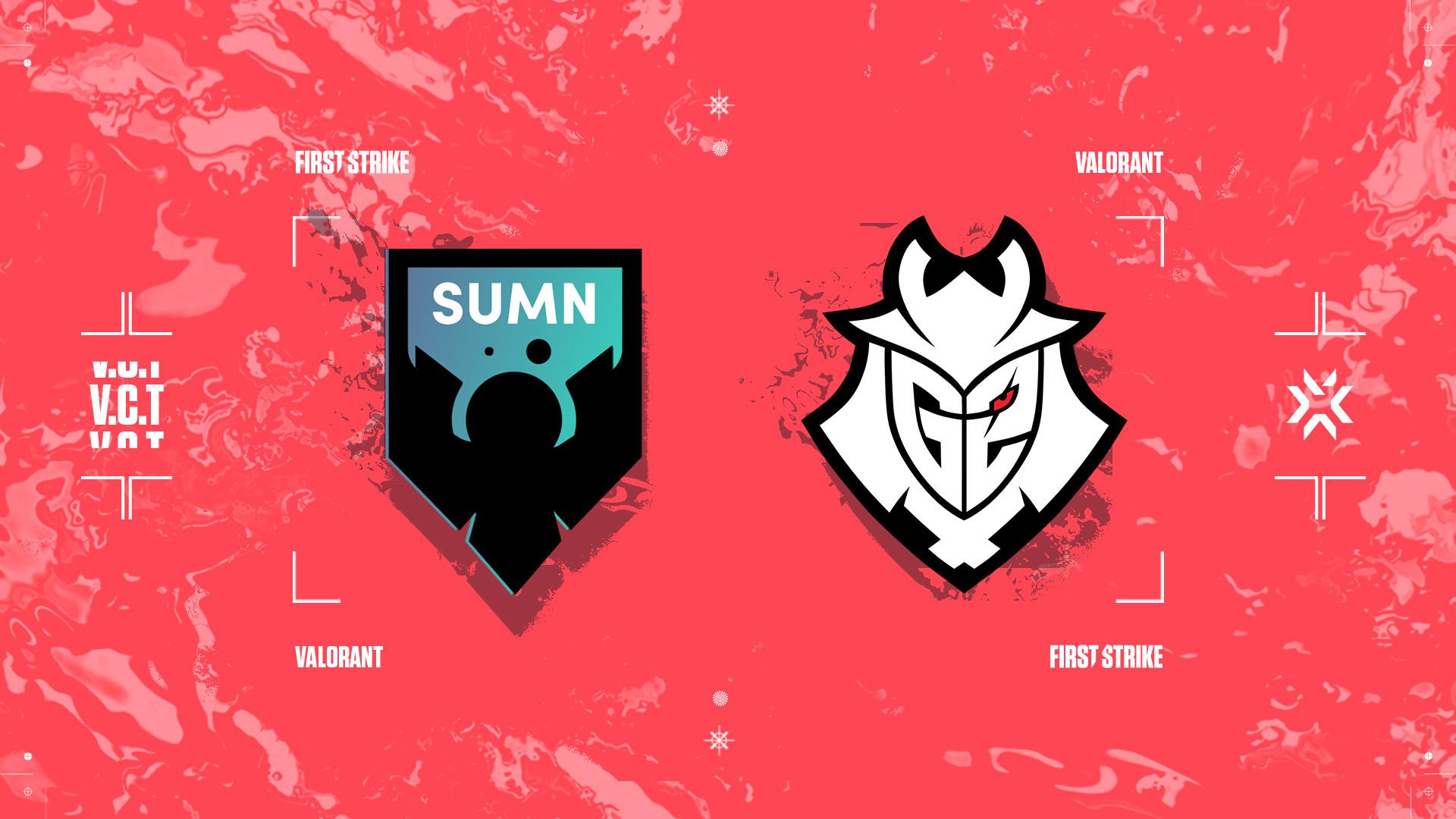 Evento principal de First Strike: Europa de VALORANT – Entrevista con G2 y SUMN FC