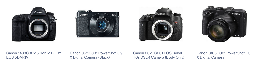 SabrePC Digital Camera Products