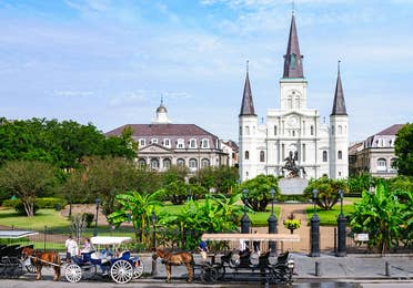 St. Louis Cathedral near New Orleans Resort in Louisiana.