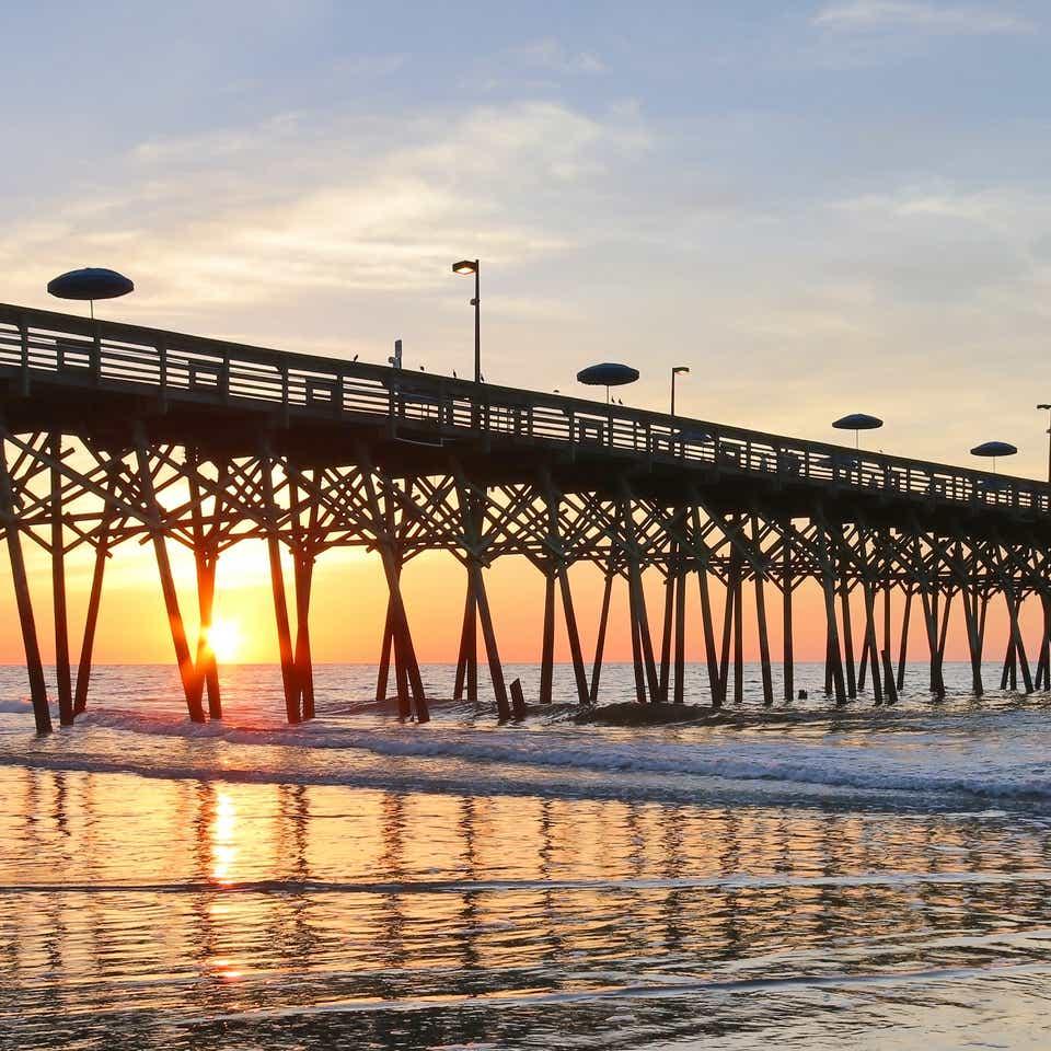 Boardwalk at Myrtle Beach, SC