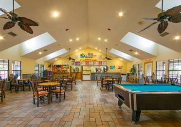 View of Hill Country Resort Grille in Hill Country, Texas.
