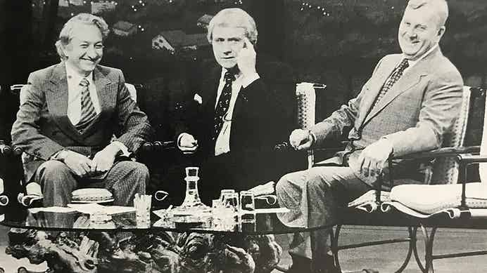 Kemmons Wilson being interviewed on The Merv Griffin Show
