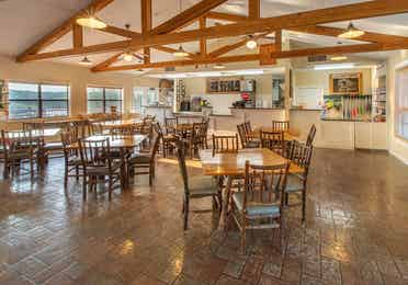 Timber Creek Snack Bar & Grille with indoor seating in De Soto, Missouri.