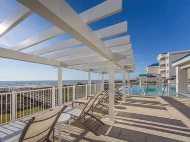 Pool at Galveston Seaside
