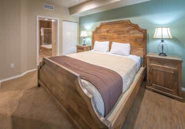 Upgraded one bedroom villa with one king bed at David Walley's Resort in Genoa, Nevada