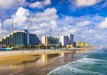 Daytona Beach skyline near Orange Lake Resort in Orlando, Florida