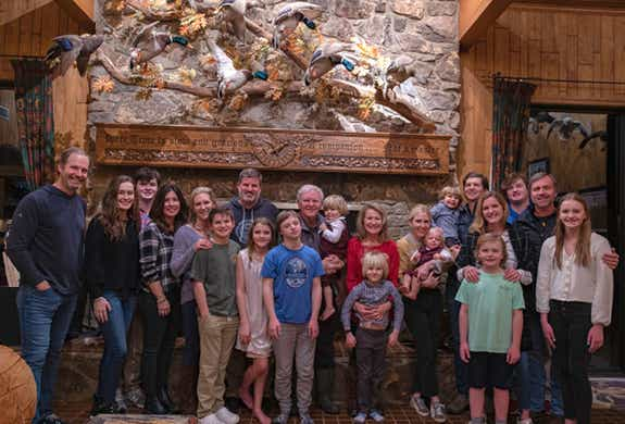 Sharing a getaway with our kids and grandkids