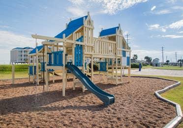 Outdoor playground at Galveston Seaside Resort