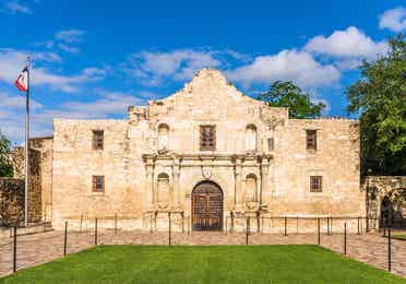 Exterior view of The Alamo near Hill Country Resort.