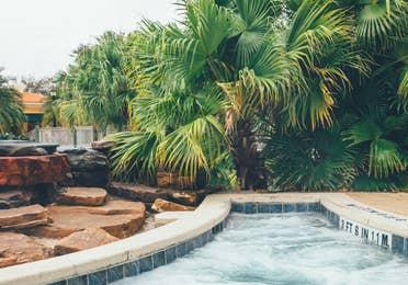 Lazy river in River Island at Orange Lake Resort near Orlando, Florida