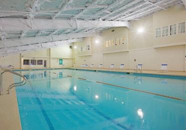 Indoor pool at Mount Ascutney Resort in Brownsville, VT