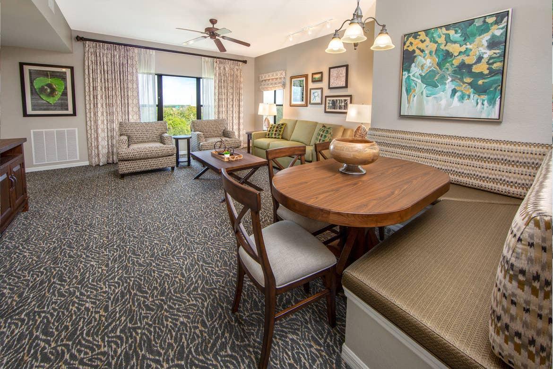Interior shot of our Villa at Orange Lake Resort located in Orlando, Florida..