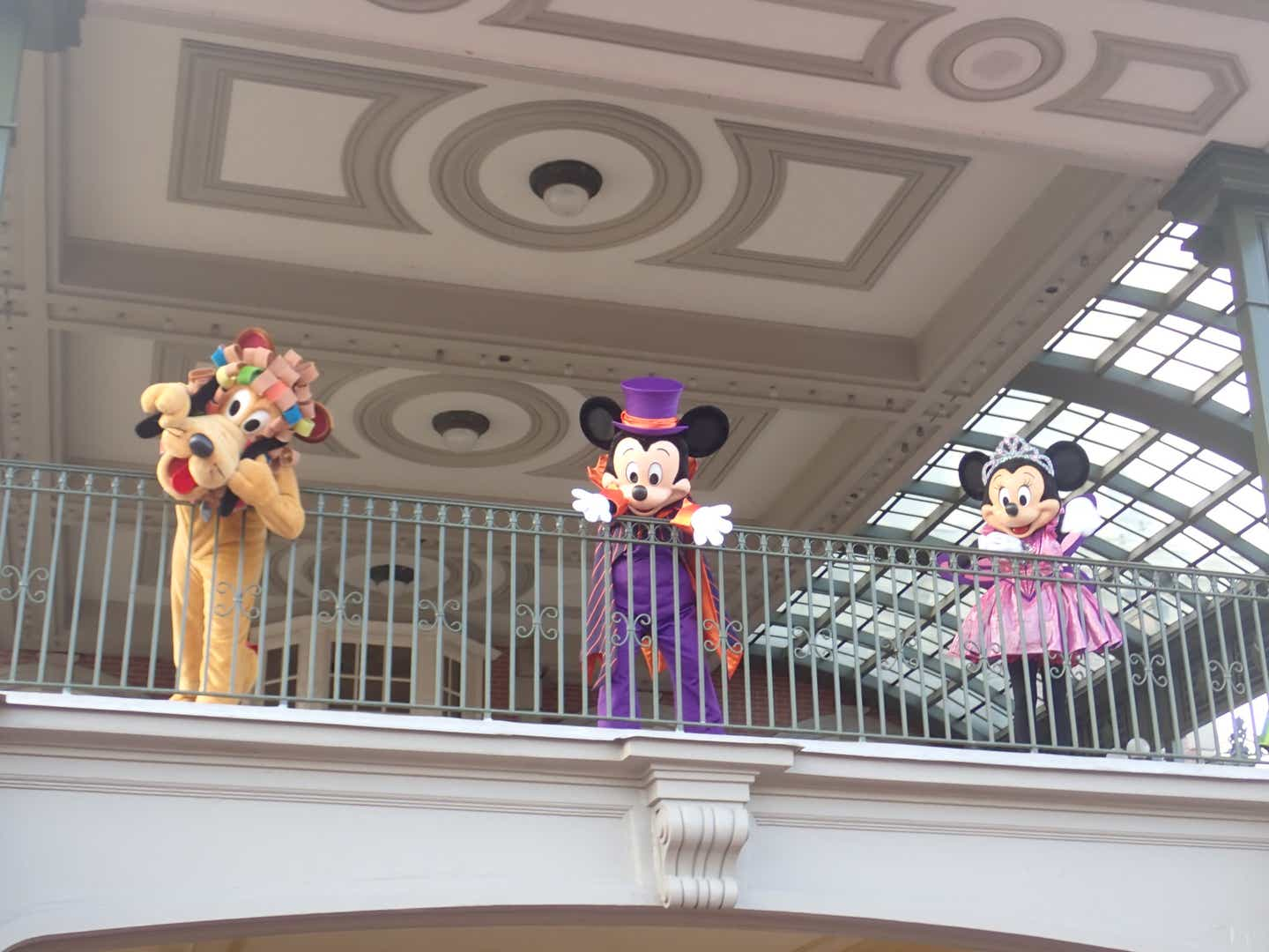 Mickey Mouse at Halloween time