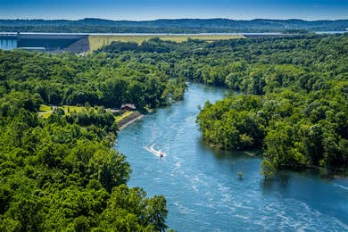 river in Branson, MO