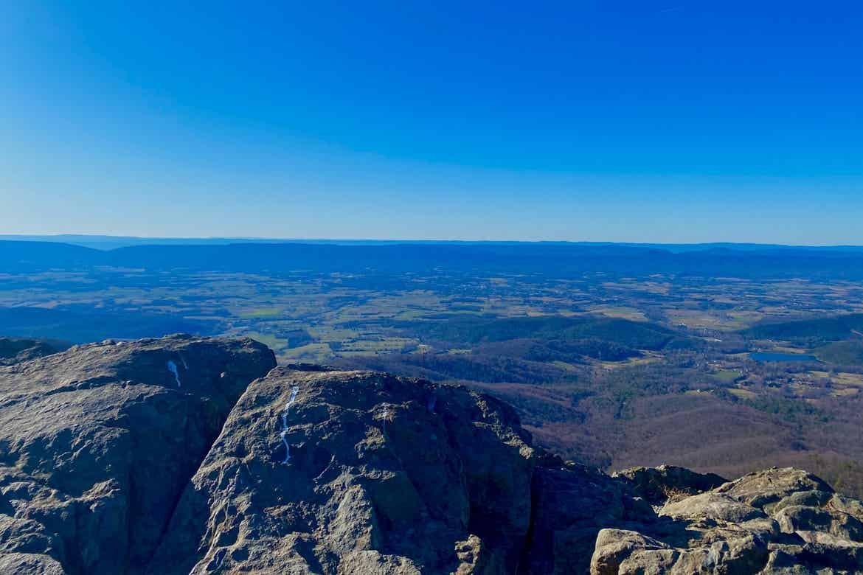 Overlook at Shenandoah National Park