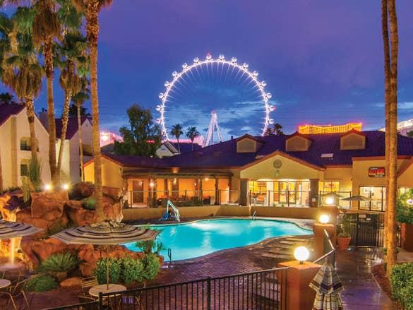 View of Desert Club Resort