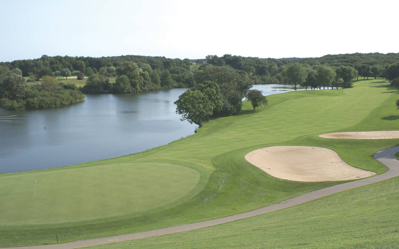 Golf course at Lake Geneva Resort in Wisconsin.