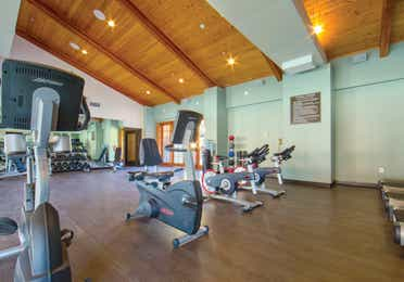 Fitness center with stationary bikes at Scottsdale Resort in Arizona