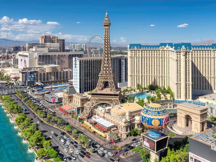 Photo of the Las Vegas Strip.