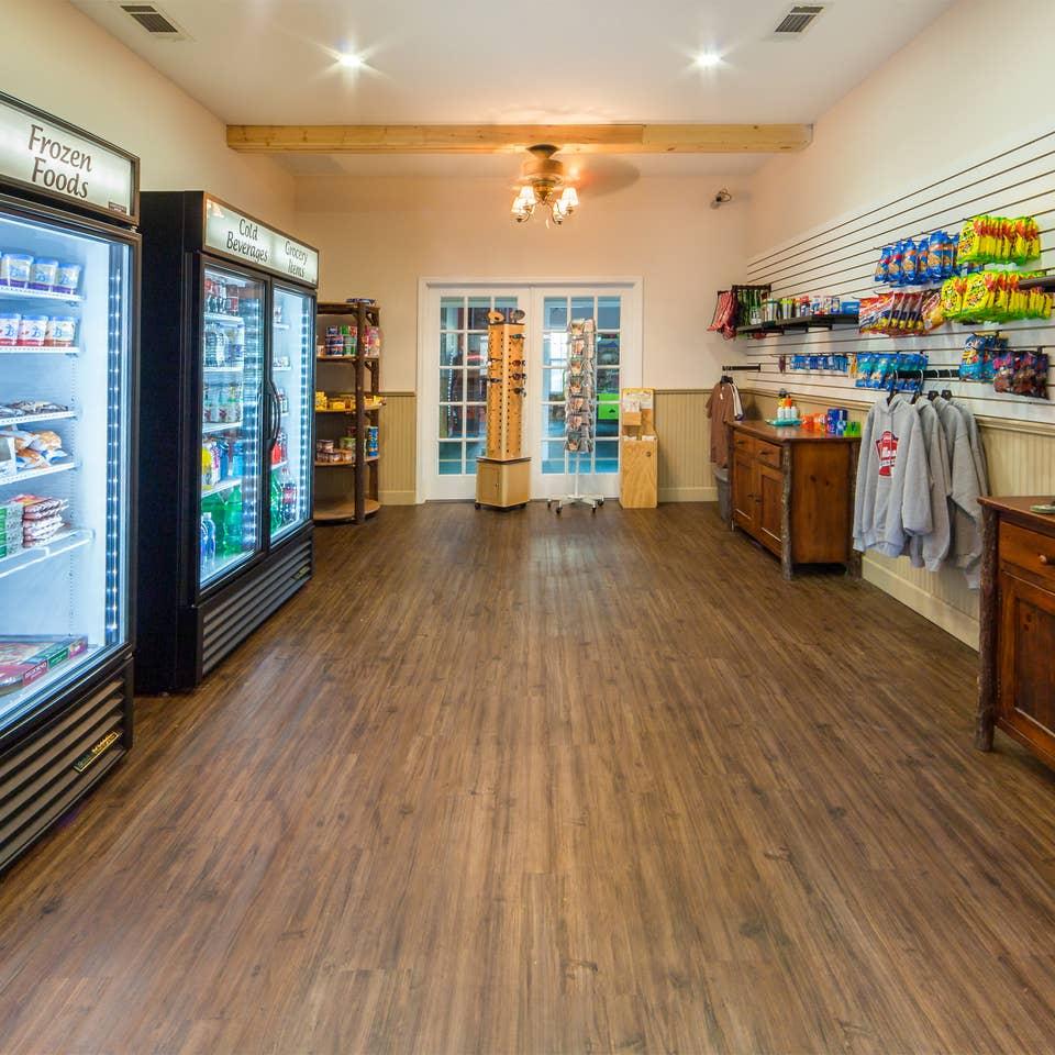 Marketplace at Apple Mountain Resort in Clarkesville, GA