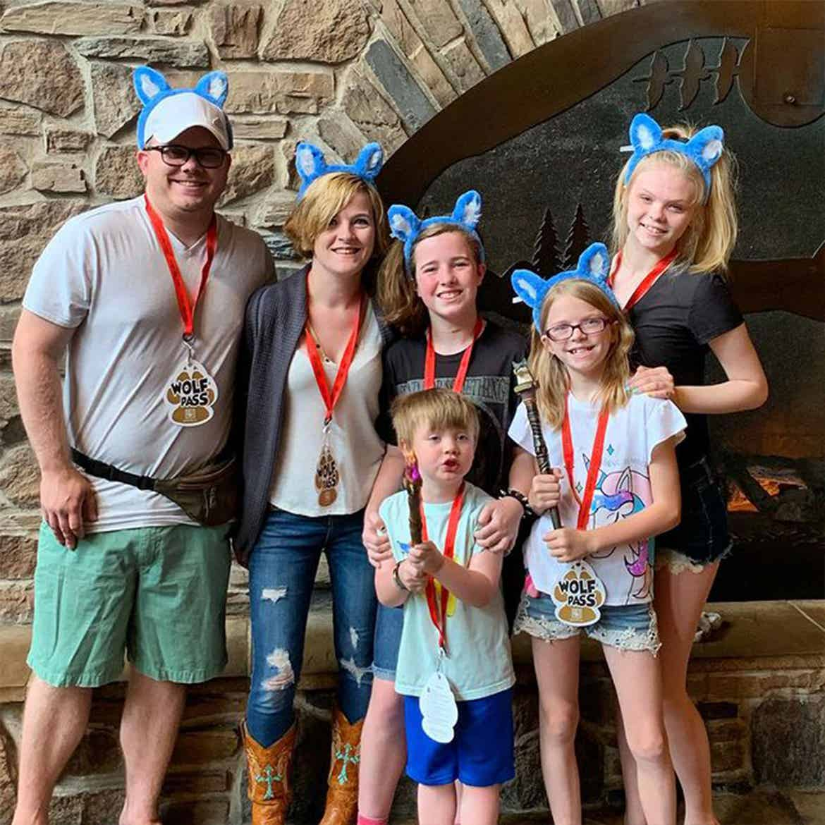 Featured Contributor, Alicia Trautwein and her husband, Andy, and their children, Hannah, Izzy, Lilly and Walker
