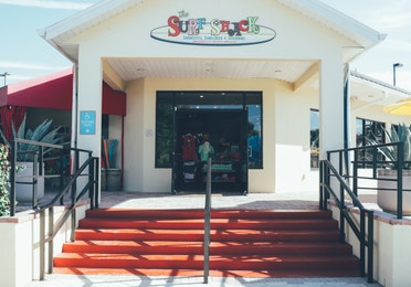 Surf Shack shop in West Village at Orange Lake Resort near Orlando, Florida