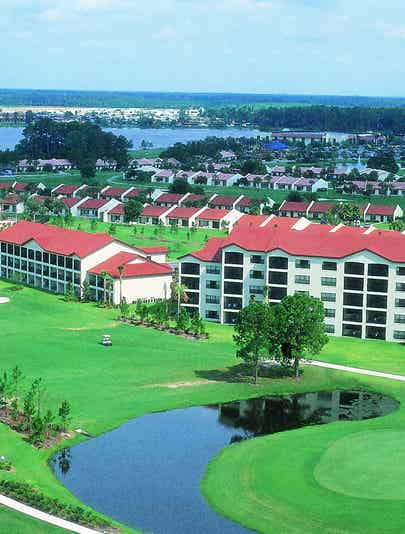Orange Lake Resort in the mid-1990s