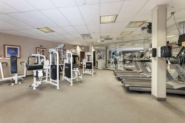 Fitness Center at Tahoe Ridge Resort in Stateline, Nevada.