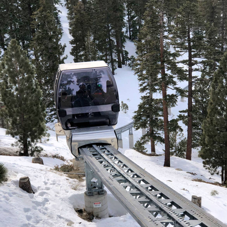 Skier Express at Tahoe Ridge Resort. Photo courtesy of IHG®