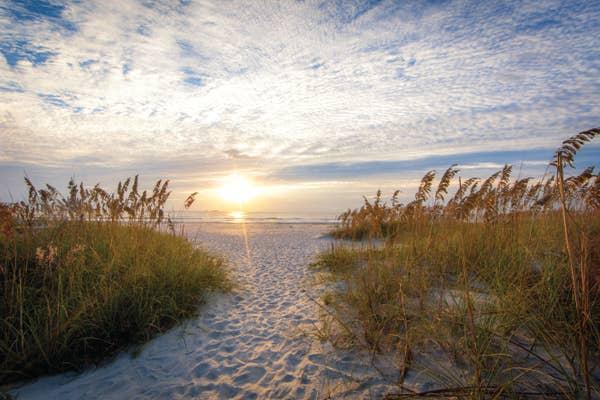 Beach views at Cape Canaveral Beach Resort