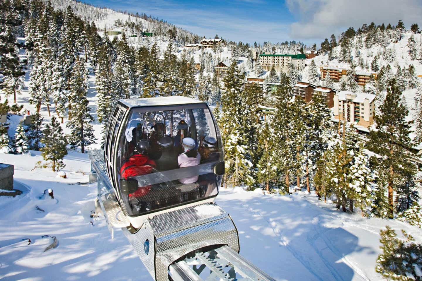 Skier Express at Tahoe Ridge Resort. Photo courtesy of IHG®