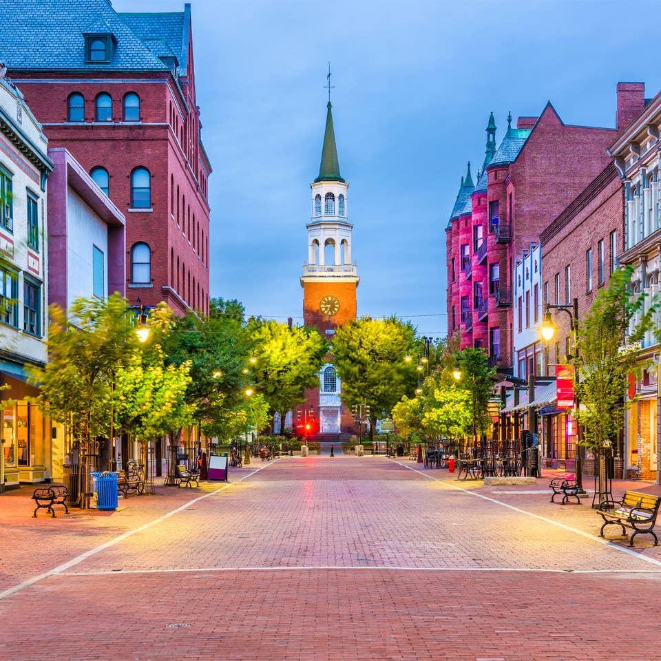 City scenes near Brownsville, Vermont.