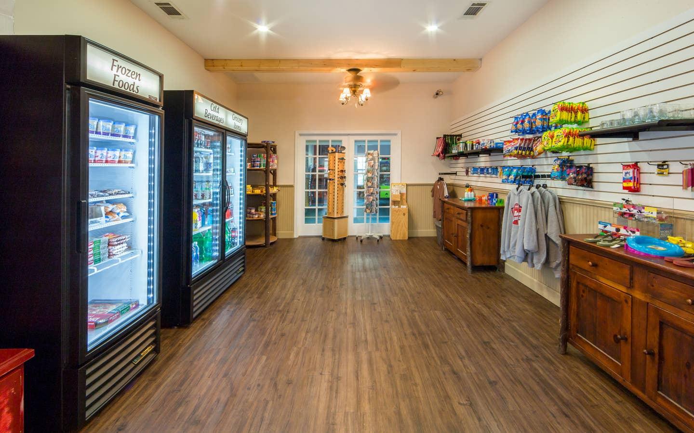 The Marketplace at Apple Mountain Resort in Clarkesville, GA