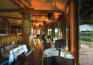 Seating options in 1862 Restaurant & Saloon at David Walley's Resort in Genoa, Nevada