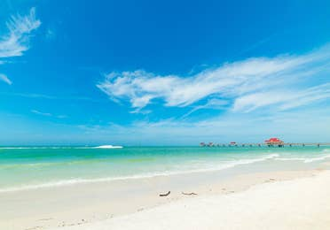 Clearwater Beach near Orange Lake Resort in Orlando, Florida