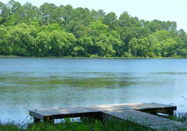 View of Lake Palestine near Villages Resort in Flint, Texas.