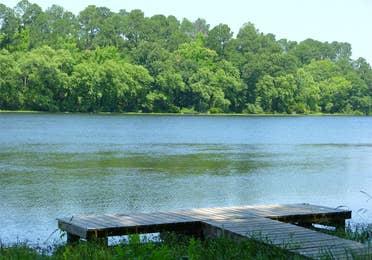 View of Lake Palestine near Villages Resort in Flint, Texas.