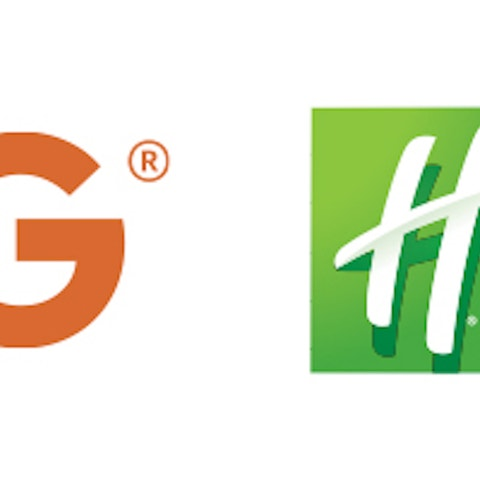 IHG and Holiday Inn Club Vacations logos