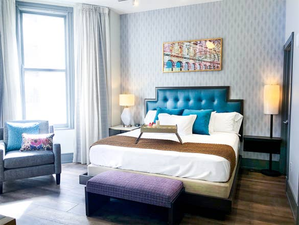 Bedroom at New Orleans Resort