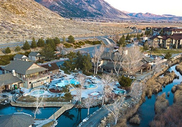 Birdseye view of David Walley's Resort in Genoa, NV
