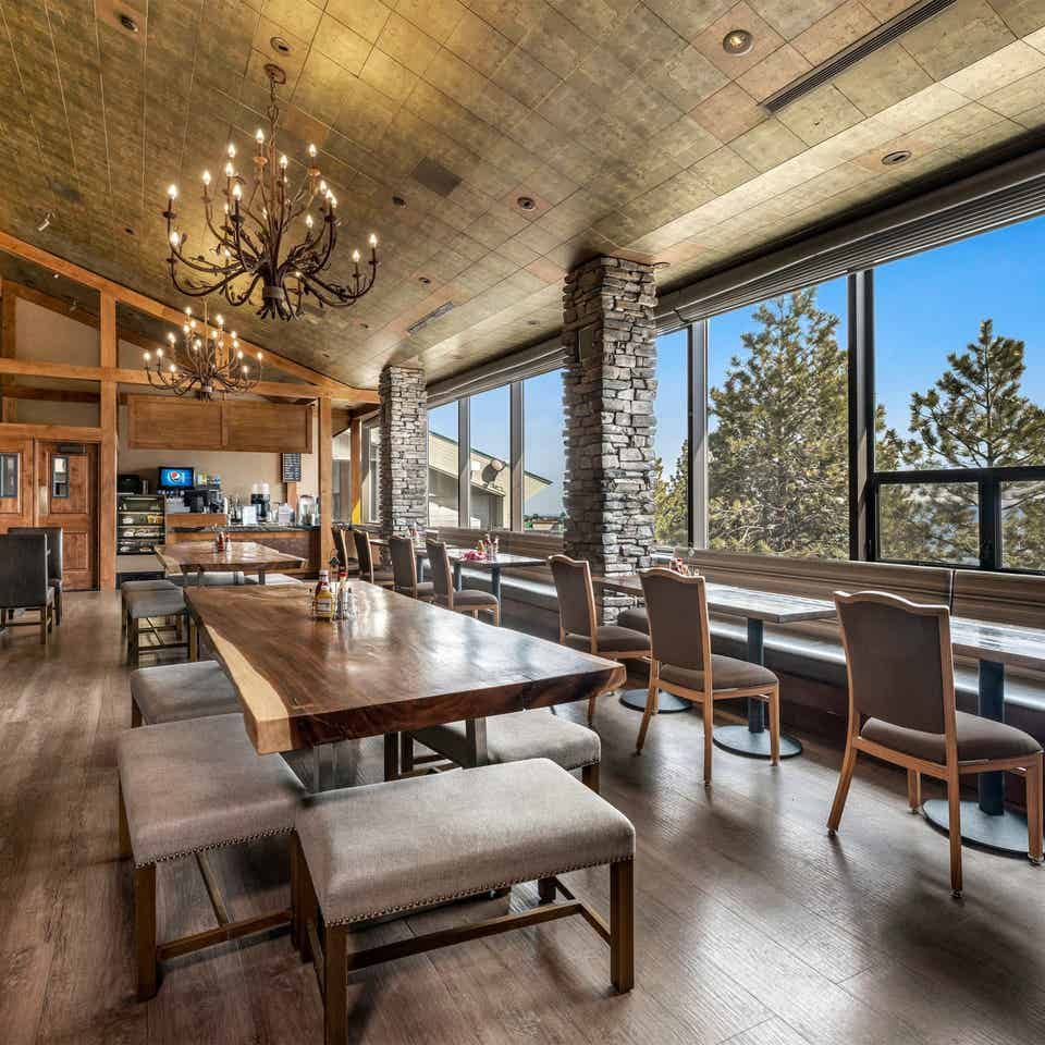 Interior view of the Bistro at Tahoe Ridge Resort in Stateline, NV