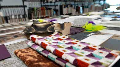 New Orleans Resort interior design fabrics