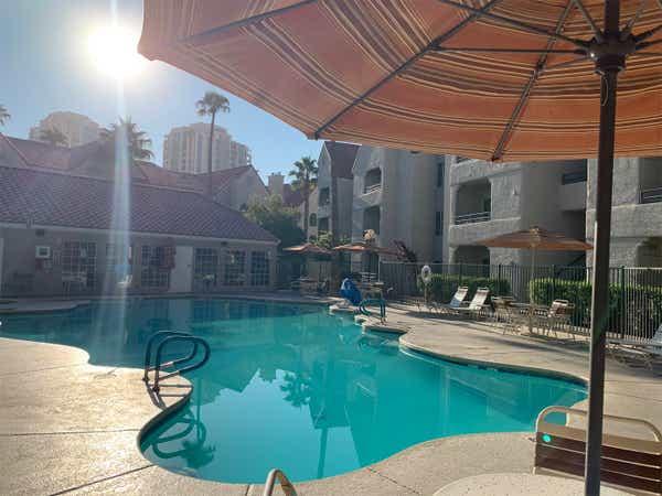 Tiki Tide Pool at Desert Club Resort.