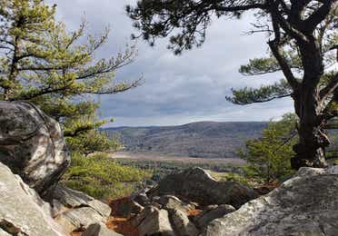 Views from Monument Mountain near Oak n' Spruce Resort in South Lee, Massachusetts.