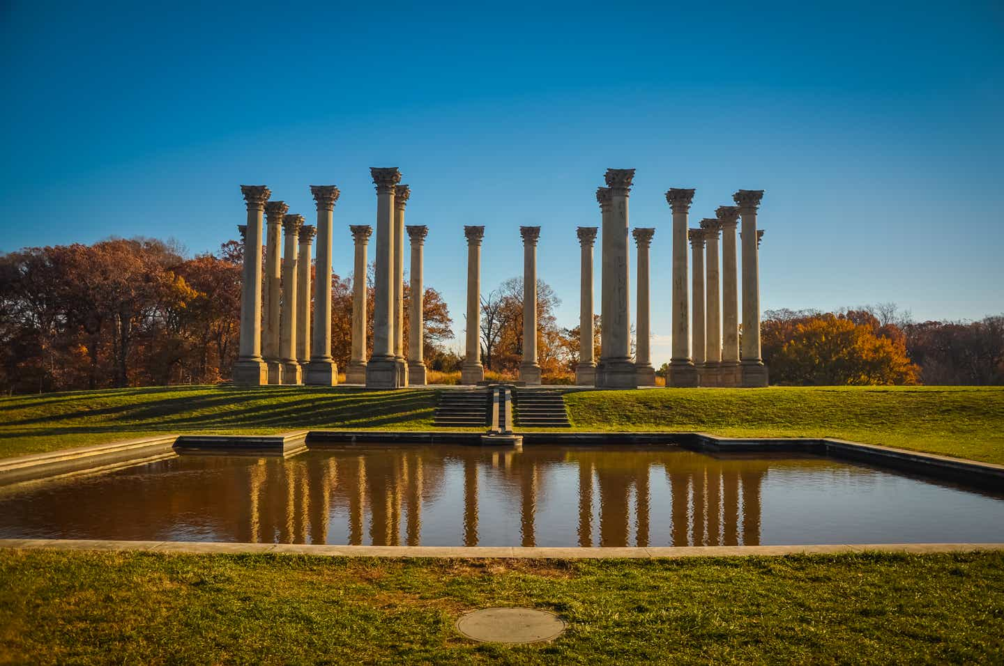 The U.S. National Arboretum in Washington, D.C., during fall