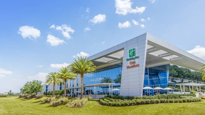 Exterior view of Holiday Inn Club Vacations Incorporated's call center