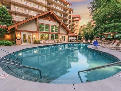Property building at Smoky Mountain Resort