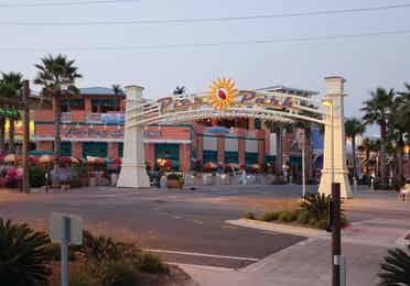 Pier Park entrance in Panama City Beach
