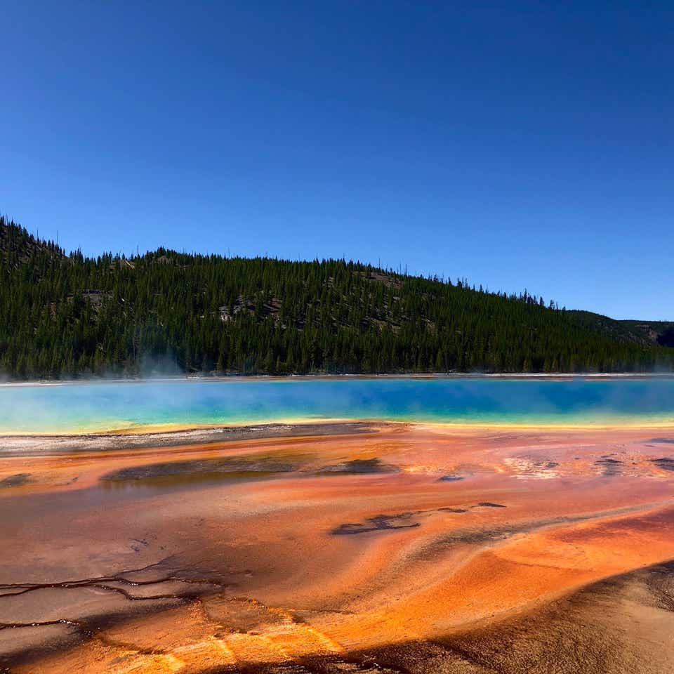 Grand Prismatic Spring at Yellowstone