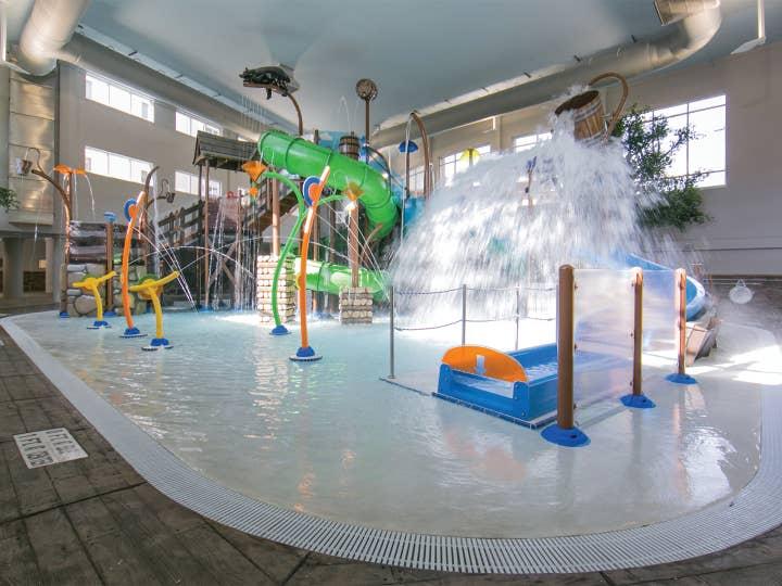 Interior of Splash Hollow at Smoky Mountain Resort
